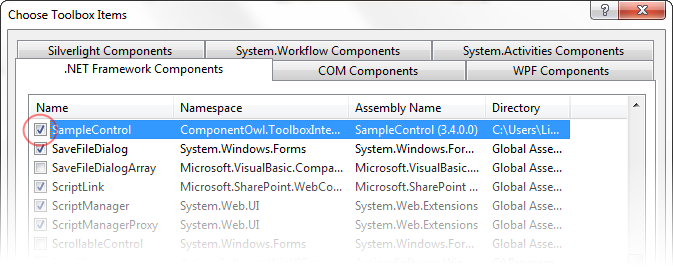 Property value is not valid visual studio